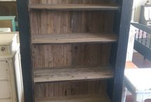 My Shabby Chic Bookcases / This is where I post all the bookcases I have painted shabby chic in the past.