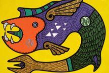 Scuderia Livin'art - Marcos de Oliveira / l'interessantissimo artista brasiliano esprime con forza la sua visione del mondo tra fervida immaginazione e spiritualità