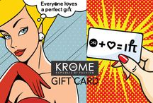 Fashion Defined By Krome / #GiftCard is the best way to put smiles on your loved ones faces. With #krome gift cards they can buy apparels, accessories and more of their choice.