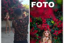 behind the scene of photo