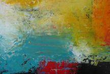 Små malerier i olje