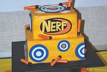 nerf cake / by Karley Steed