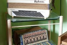 Accordions / I used to play when I was younger. / by Dee Thurlo