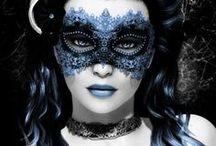 Masquerade / maschere di ogni tipo e foggia