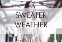 Sweater Weather / Our favorite time of year is here!