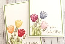 Tranquil Tulips - Stampin Up