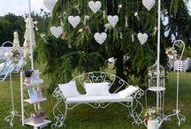 Wedding photo corner ideas
