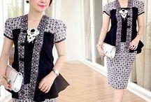 Mode wanita batik