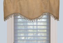 Fall Window Treatment Decors
