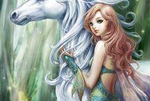 Horses and Fairy