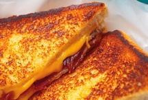 grilled cheese / by Amanda Mauck
