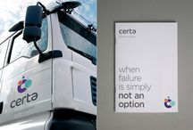 Certa - Pharma Logistics / The challenge - McCulla Transport were diversifying into the specialised area of pharmaceutical transport and needed a brand that would position them successfully in this market.  The solution - A market leading brand positioning that effectively communicated this standalone offering, based on the brand pillars of certainty, assurance, reliability and expertise.