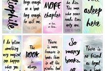 Bookmarks and Book Lovers