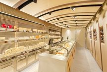 Supermarkets / Design and concept ideas for food stores or shops