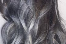 Gray hair colors