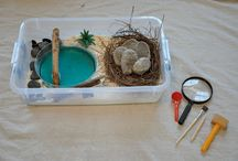 Discovery boxes / play trays