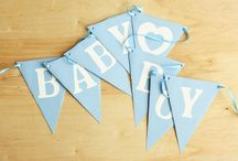 Party Pennant Banners / Beautiful Pennant Banners for Weddings, Baby Showers, Birthday Parties or any party or event.