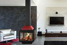 Cheminées Traforart / Cheminées metal traforart, l'art du feu, maintenant chez Aspen poêles et cheminées. #cheminees #insert #design
