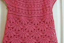 blusa de abanicos