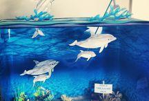 Sophie's dolphin diarama