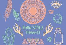 Dibujos, texturas y patrones