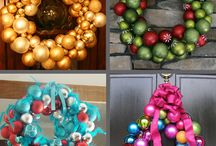 Christmas Crafts to Complete / You get a wreath, you get a wreath, everybody gets a wreath! / by Amanda Sellers
