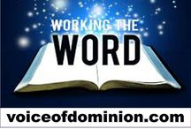 Daily Devotional: Working The Word