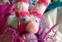 Prek Easter / Making Easter crafts with Preschoolers.