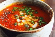 Soups / Soups for keeping warm on cold autumn nights.