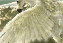 Pegasus ~ Hästar på vingar