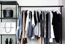 Kleiderschrank Inspiration / WARDROBE