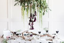 Wedding theme: Industrial chic with beautiful botanicals