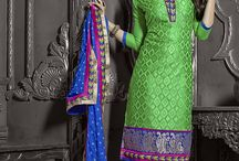 Catalog 2429 Casual Wear Chanderi Suit / Buy all type indian ethenic wear cloths like salwar kameez, Kurtis, Lehenga choli, means wear, saree etc. we sale best price for single piece and whole catalog.  Shop Now@ http://www.fashionfiza.com/salwar-kameez?catalog=1248
