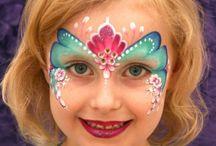 Pintura artística (maquiagem em crianças) / Dicas de pintura artística (maquiagem) em crianças para ocasiões especiais, como festas de aniversário.