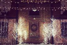 winter wonderland wedding / winter wonderland wedding. december wedding. golden gardens. seattle wedding. diy wedding.