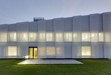 glass-fibre facade