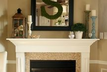 Decorating A Mantle