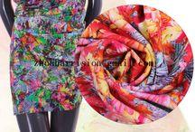 summer beautiful fabrics / we supply many kinds of fabrics