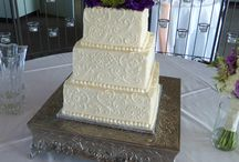 Wedding Cakes (delicate scroll) / Fancy and delicate scroll designs