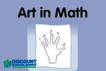 ART in MATH / Explore art products & activities that support math development.