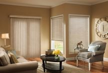 Vertical Shades / Vertical Shades: Evergreen choice for Patio Doors. Tons of fabric and vinyl options to choose from. http://www.windowinspirations.ca/