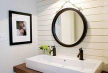 Wall finish bathroom