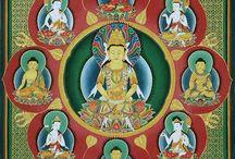 Mándalas y Zentangles / Los mándalas son diagramas o representaciones esquemáticas y simbólicas del macrocosmos y el microcosmos, utilizados en el budismo y el hinduismo.