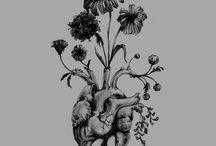 Human Heart Art