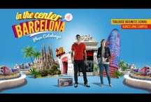 """TBS Barcelona campus / The school is located in the heart of the city of Barcelona, very near """"Plaça Urquinaona"""". It offers the keys to the latino business world ! The school is attended by students from all over the world: Spain, France, South America, UK, USA, etc."""