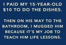 Parenting Humor / Because let's face it...this needs its own board.