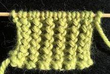 cote zigzag pour pull