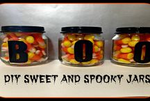 Halloween DIY / DIY projects are so much fun, and when you add witches, ghost and goblins they get even better!