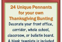 Thanksgiving themed clipart, papers, activities, and more!