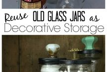 Mason jars... re use